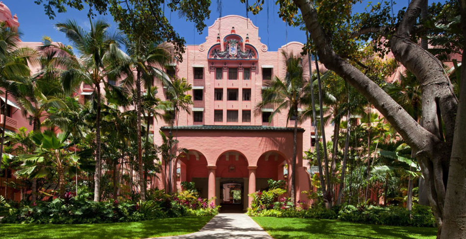 The Royal Hawaiian Luxury Collection Resort is one of GAYOT's Top Ten Romantic Resorts in Hawaii