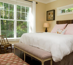 One of the cottage rooms at the Hidden Pond.