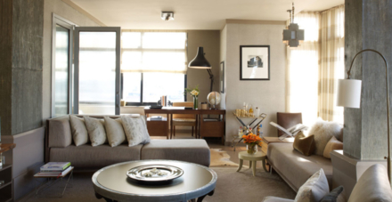 The North Loft's living room