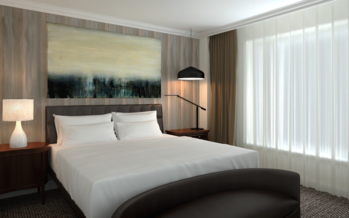 One of the rooms at The Logan Philadelphia, Curio Collection by Hilton.