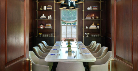 The executive board room at the Kimpton Morrison House