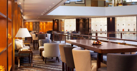The Four Seasons Sydney lounge area