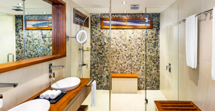 The Westin Denarau Island's Spa Suite's Bathroom