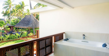 The Spa Suite's Outdoor Jacuzzi on Terrace