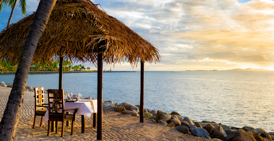 Private Beachfront Dining at The Kitchen