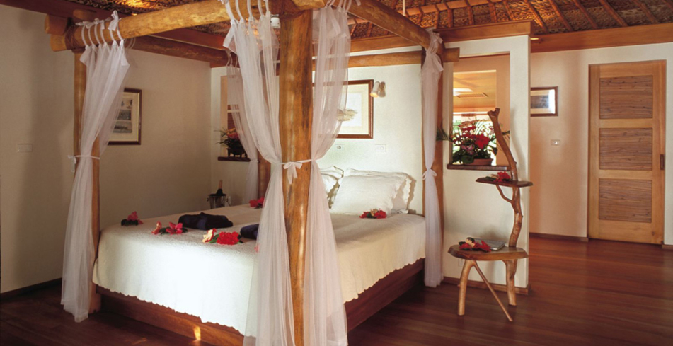 A guest room at Turtle Island Fiji