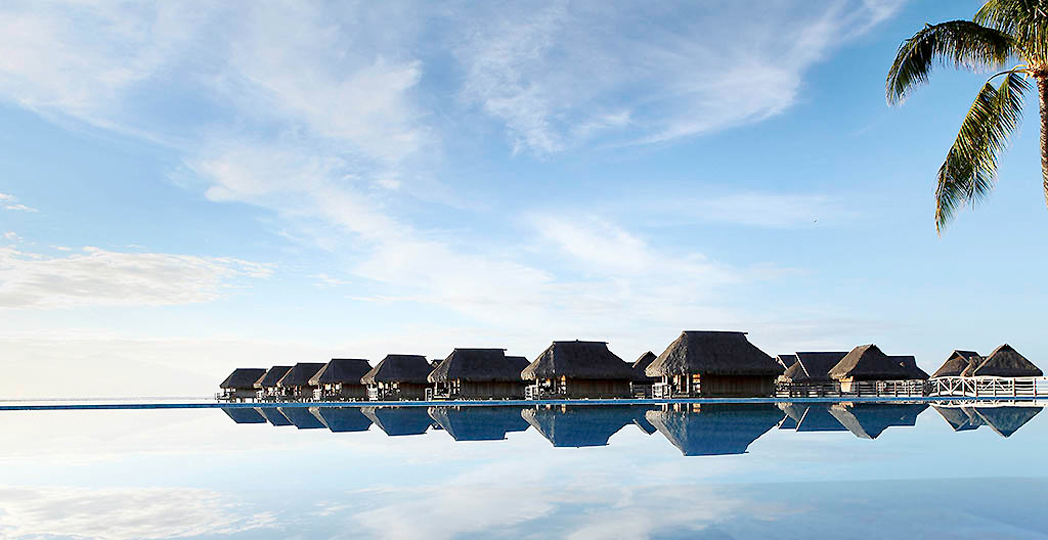 The Over Water Bungalows at Sofitel Moorea Ia Ora Beach Resort