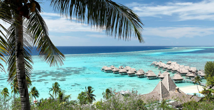 An overview of the Sofitel Moorea Ia Ora Beach Resort