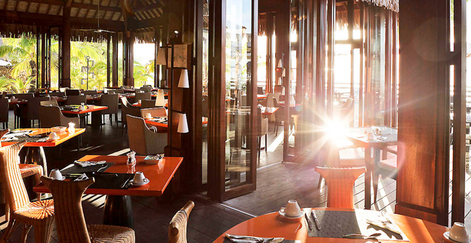 K Restaurants at Sofitel Moorea Ia Ora Beach Resort