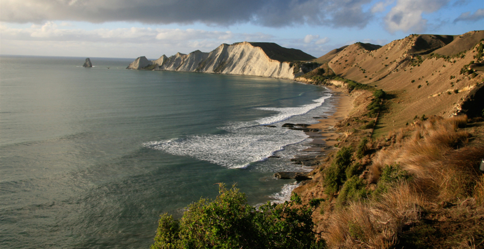 The Dramatic Coastline along Hawke's Bay