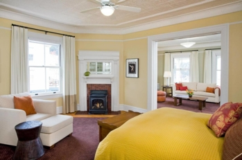 A guest room at Cavallo Point - The Lodge at the Golden Gate