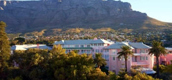 The Belmond Mount Nelson and Table Mountain