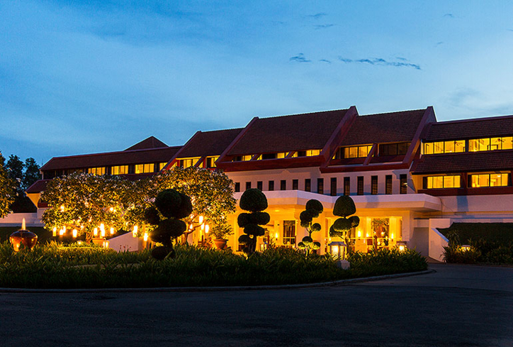 The exterior of Le Méridien Angkor