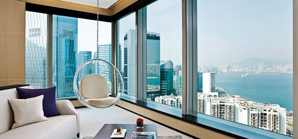 A suite at EAST, Hong Kong