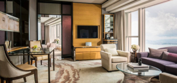 The Grand Harbour-View Suite at Four Seasons Hotel Hong Kong
