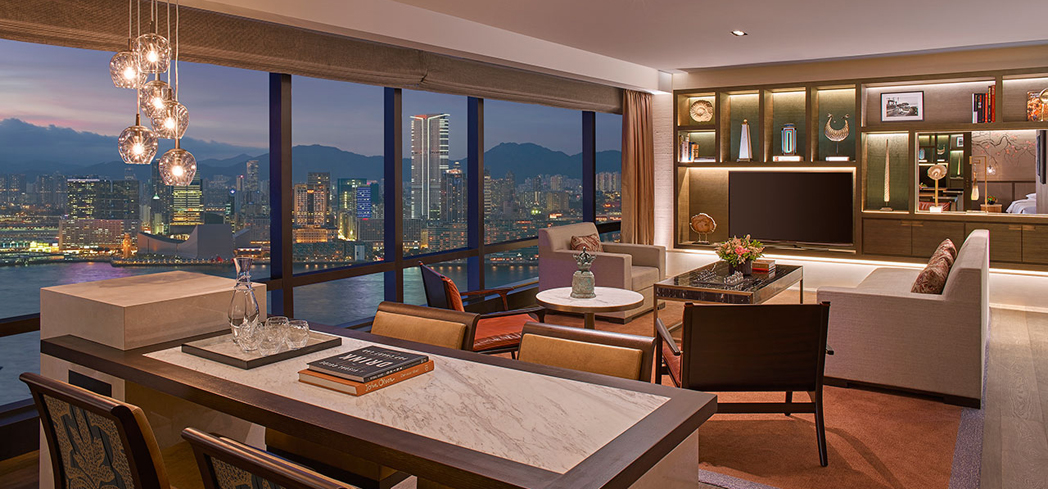 The Ambassador Harbour View Suite at the Grand Hyatt, Hong Kong
