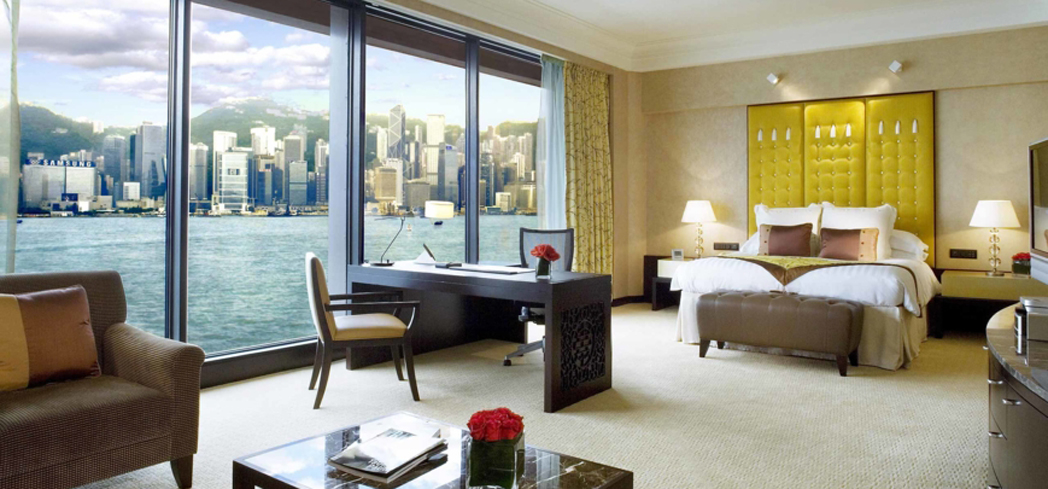The Executive Suite at the Intercontinental, Hong Kong