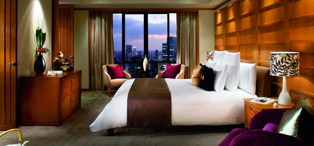 The One Bedroom Penthouse Suite at The Portman Ritz-Carlton, Shanghai