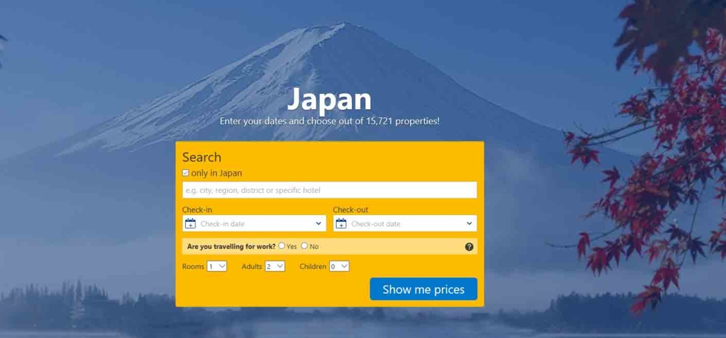 Hotels in Japan - Find and Book