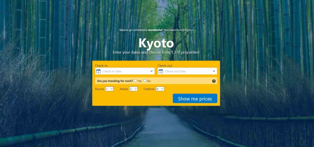 Kyoto Hotel Reservations