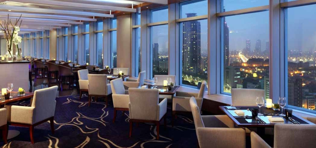 The dining hall at the InterContinental Seoul COEX