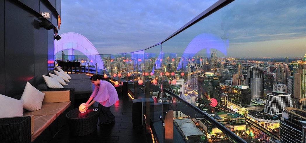 Enjoy the amazing view at Centara Grand & Bangkok Convention Centre at CentralWorld