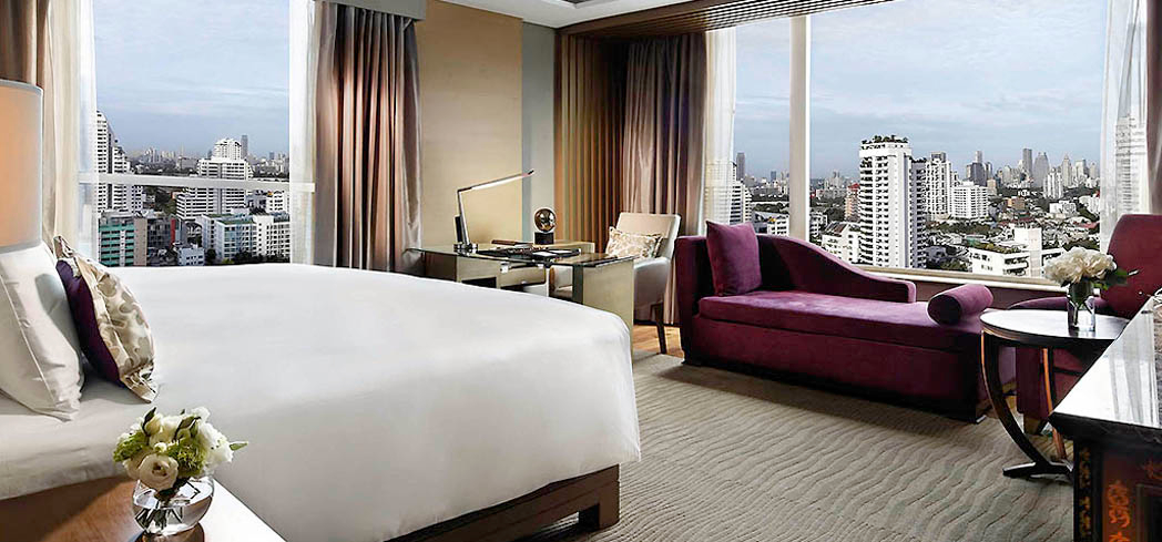 A room at the Sofitel Bangkok Sukhumvit