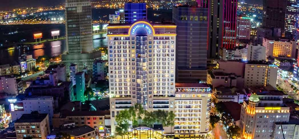 The Caravelle Hotel in the heart of Ho Chi Minh City