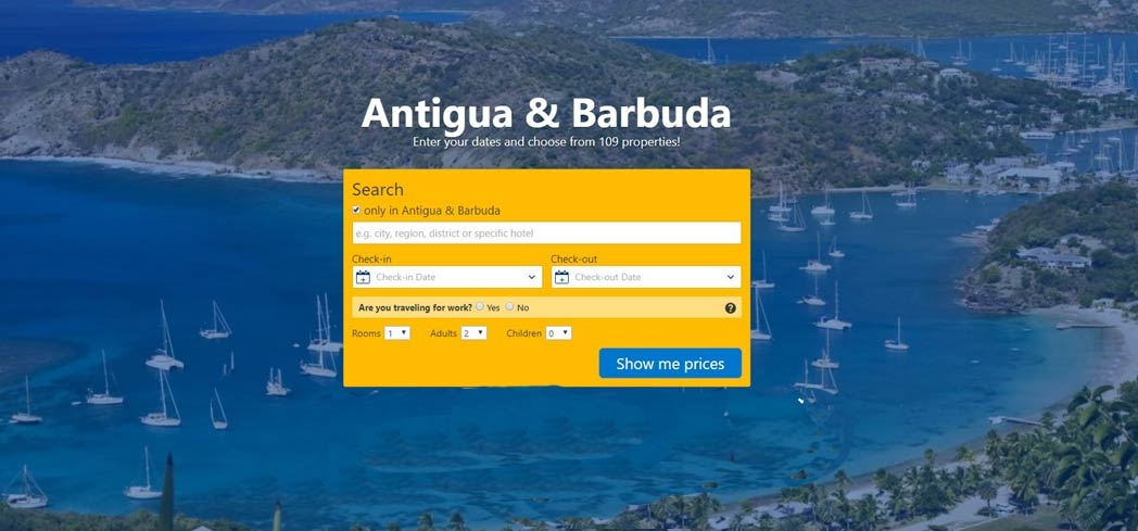Find a hotel on Antigua & Barbuda on Booking.com