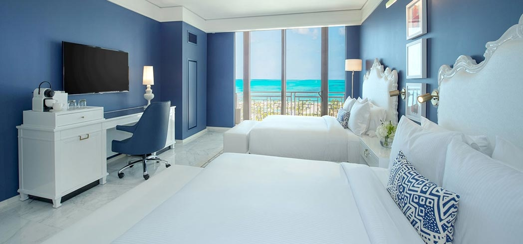 The deluxe queen room at Grand Hyatt Baha Mar