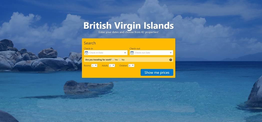 Book your hotels at the British Virgin Islands with Booking.com