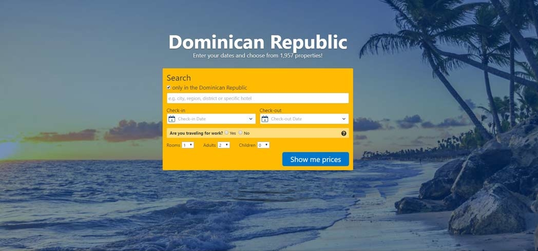 Book your hotel in the Dominican Republic with Booking.com