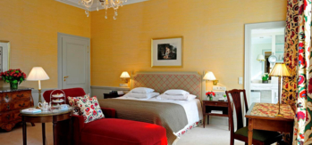 The Deluxe Double room at Brenner's Park Hotel & Spa