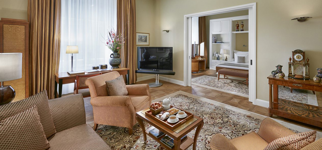 The Mandarin Junior Suite at Mandarin Oriental, Munich