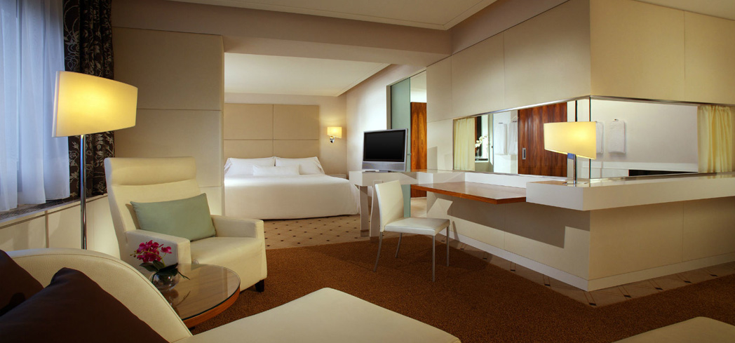 The Junior Suite at The Westin Leipzig