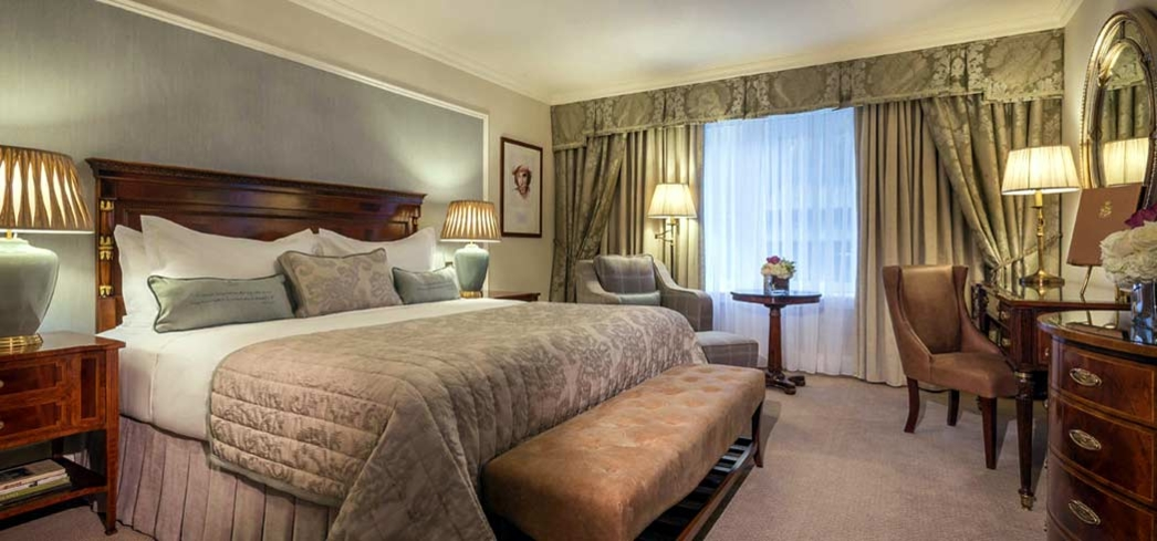 A suite at The Shelbourne Dublin, A Renaissance Hotel