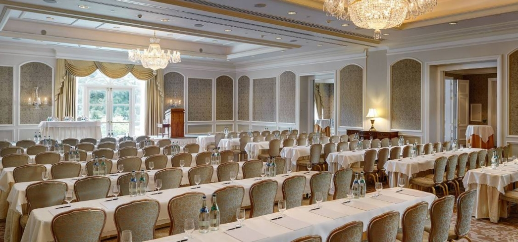 Junior ballroom at the InterContinental Dublin hotel