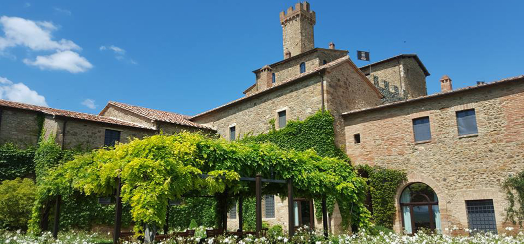 The Castello Banfi estate offers a family-run experience focused on both the past and the future