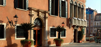 The historic Gritti Palace in Venice