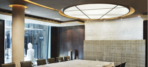 Meeting room at the Urban Madrid hotel