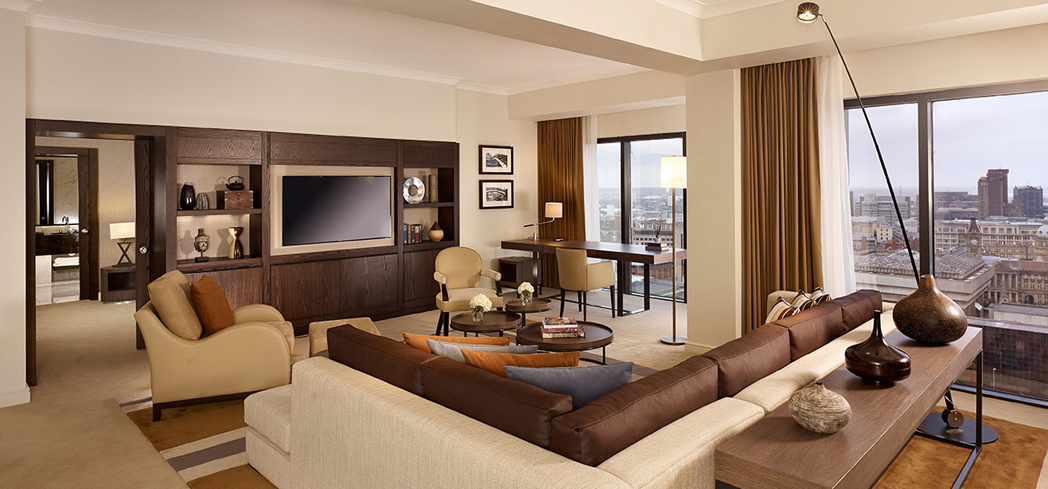 The Presidential Suite at Hyatt Regency Birmingham