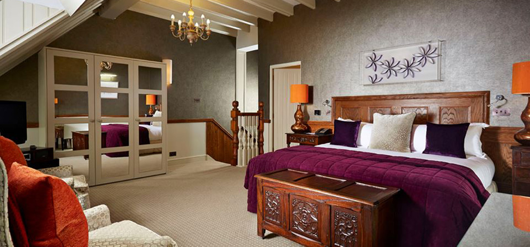 A suite at Pennyhill Park