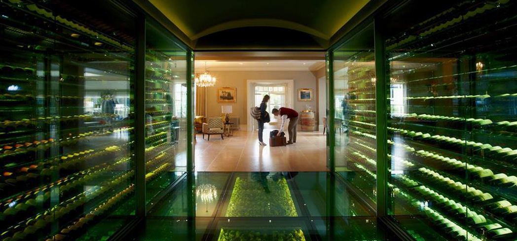 The Vineyard Hotel and Spa's wine cellar
