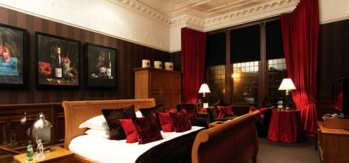 A suite at the Hotel du Vin in Glasgow