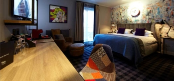 A room at the Malmaison Glasgow