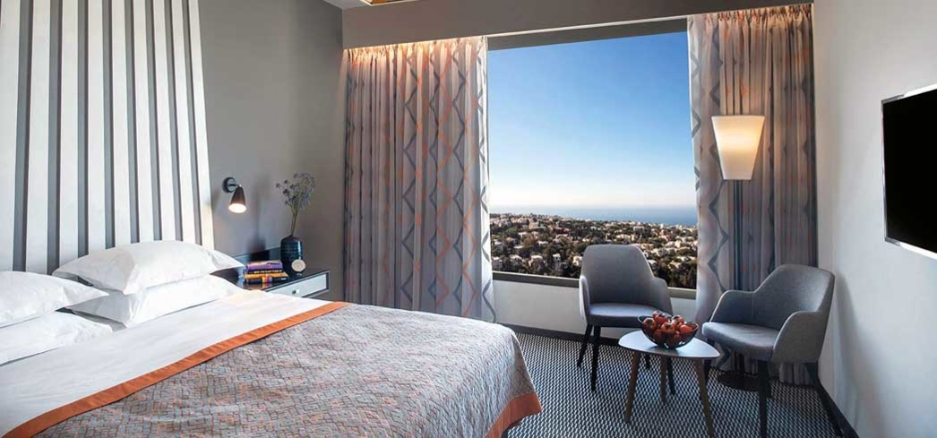 A suite with a view at the Dan Tel Aviv