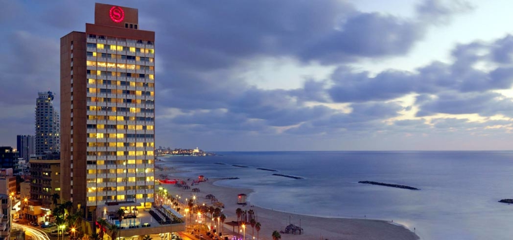 The beachfront Sheraton Tel Aviv