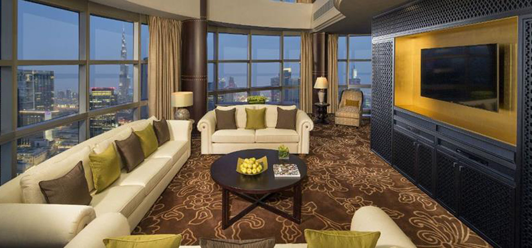 The Royal Suite at Jumeirah Emirates Towers
