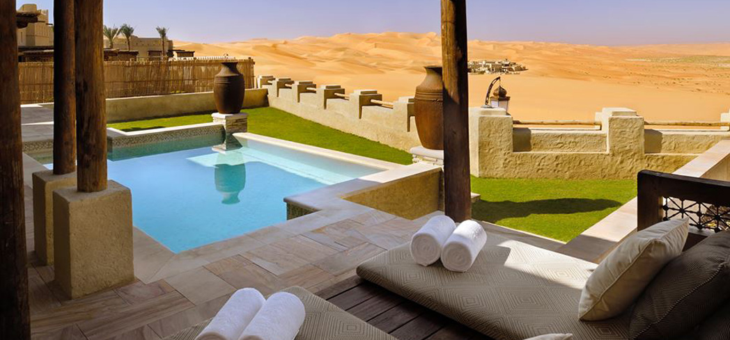 The Pool Villa at Qasr Al Sarab Desert Resort by Anantara