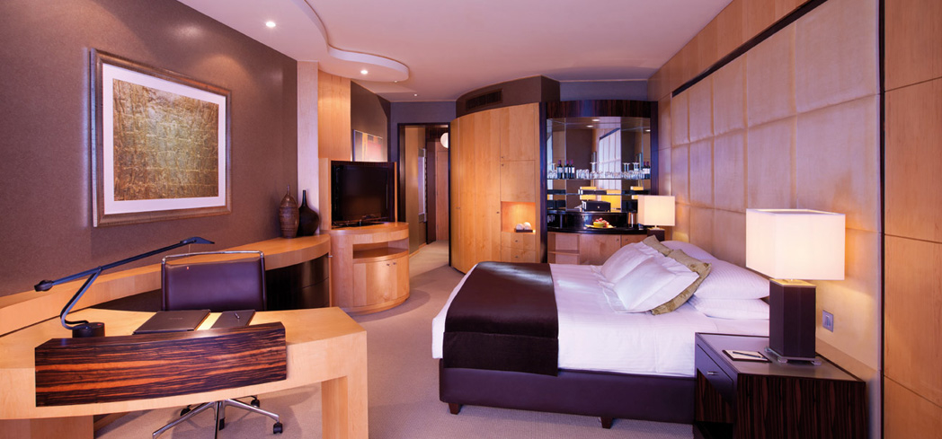The Deluxe Room at Shangri-La Hotel, Dubai